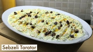 Sebzeli Tarator(Meze Tarifi) - Naciye Kesici - Yemek Tarifleri