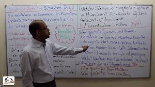 Schreiben Teil 2 - Formeller Brief - Prüfung Start Deutsch und telc A1