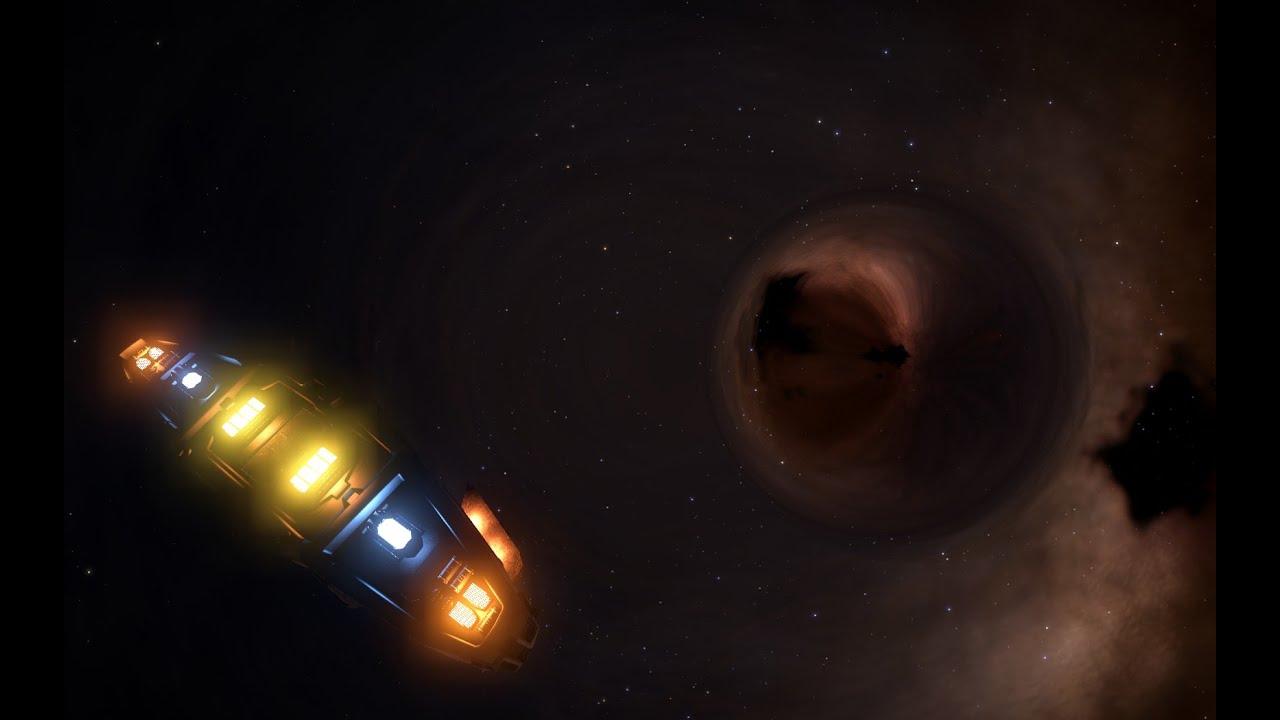 Elite Dangerous - HIP 34707 Black Hole - YouTube