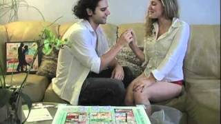 Repeat youtube video Sexy Couple Play the Adult Relationship Board Game Romantic Journey