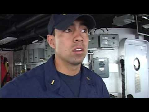 Officer of Day onboard Boutwell's Far East Deployment