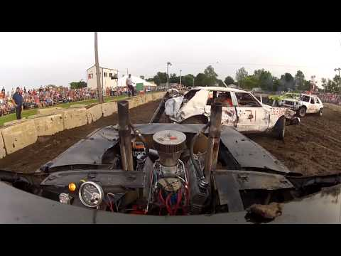 700HP!! DEMOLITION DERBY CAR!! HD! REMIX!