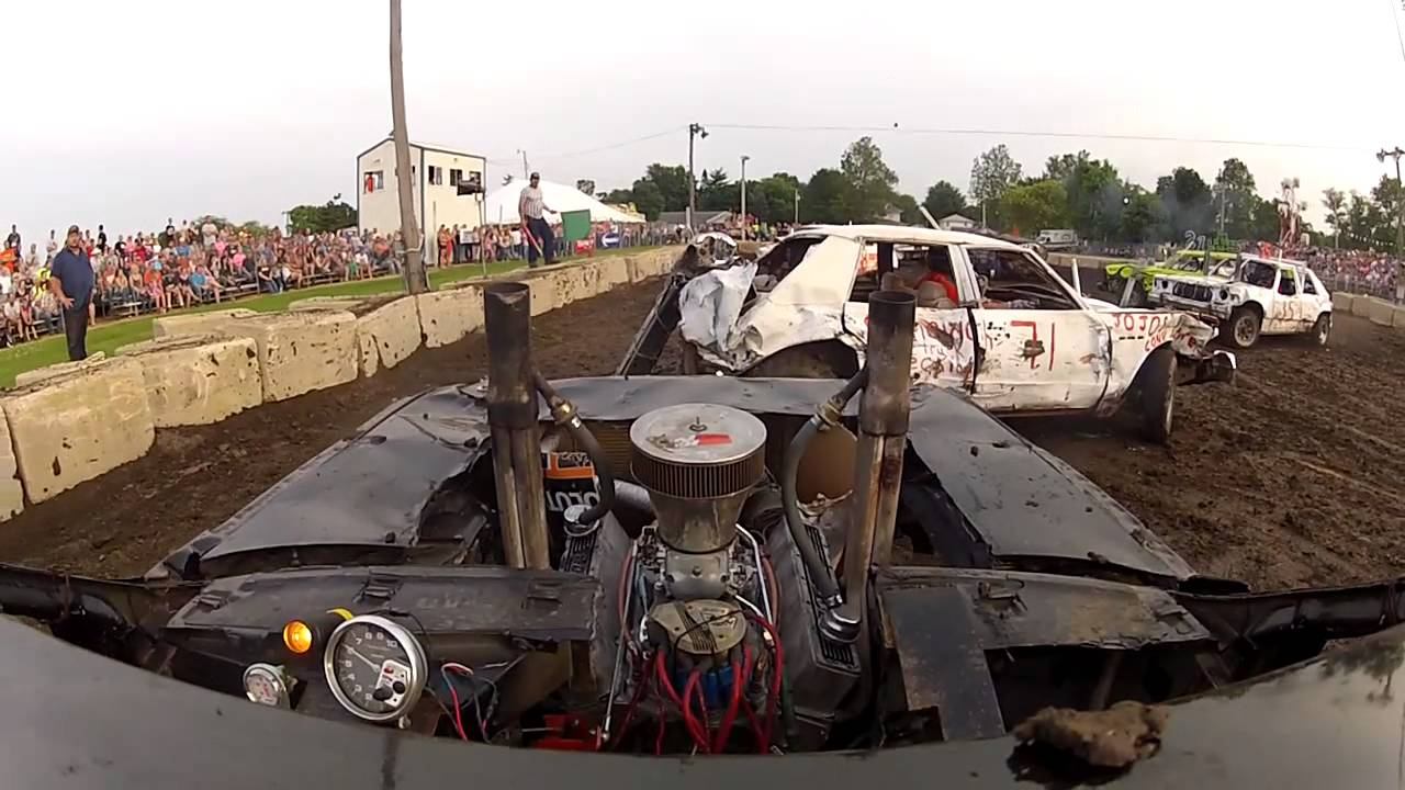HP DEMOLITION DERBY CAR HD REMIX YouTube - Derby cars