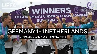 #WU17 Final Highlights: Netherlands 1-1 Germany (2-3 on pens)