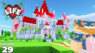X Life : BUILDING Joey Graceffa's Queen of Hearts Castle! Ep 29 Minecraft Modded Survival