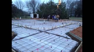 Residential Concrete Slab - B.j. Mcguire Concrete