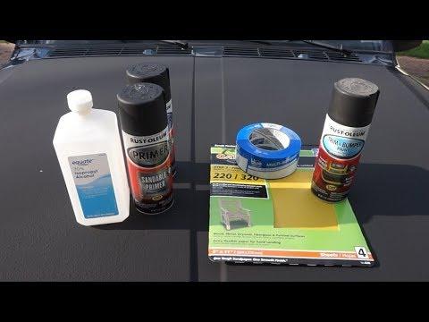 Restore/Paint your Jeep Cherokee XJ corner bumpers for under $30!!!