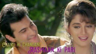 Chand ki chandni Aasmaan ki pari full song (Alka Yagnik, Kumar Sanu, Udit Narayan)