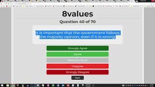 SJW 8 values test (Satyre)