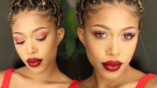 Cherry Makeup Tutorial | Jaleesa Moses