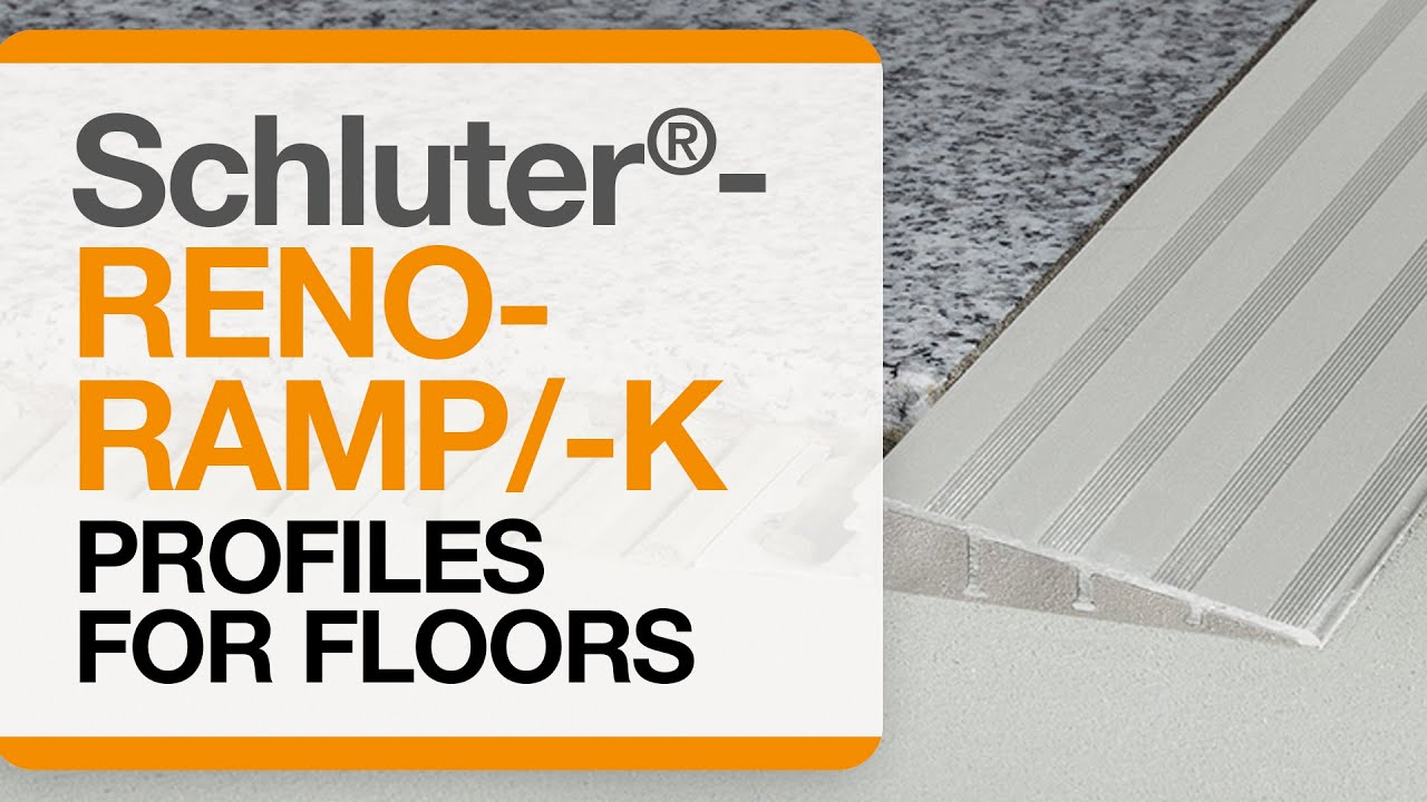 How To Install A Tile Transition On Floors Schluter 174 Reno