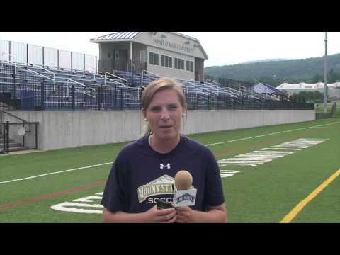 2014 Mount St. Mary's Women's Soccer Intro: #5 Kelsey Pressler