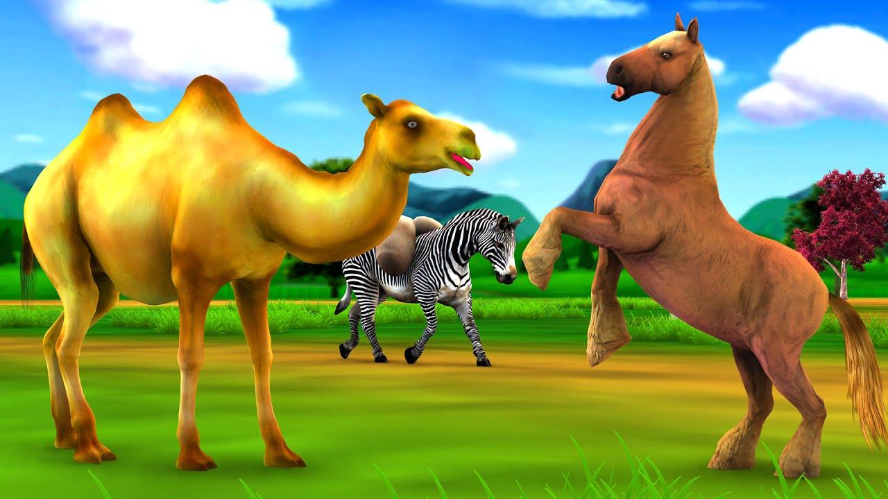घमंडी घोड़ा और ऊंट नैतिक कहानी Ghamandi Ghoda Aur Camel Ki Kahani Hindi Kahaniya Moral Stories Fairy