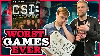 Worst Games Ever - CSI: 3 Dimensions of Murder