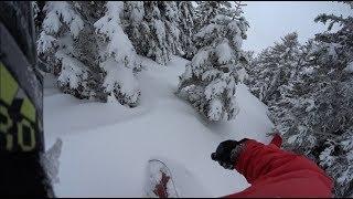 snowboarding #08: Mainalo-tree run