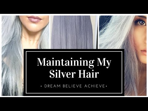 Maintaining My SILVER HAIR