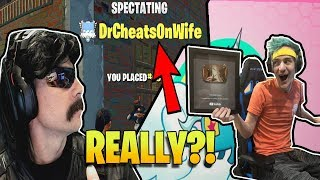 DrDisrespect Gets Stream Sniped Twice By The Same Guy | Doc Fortnite | Ninja 4 Mill Twitch Followers