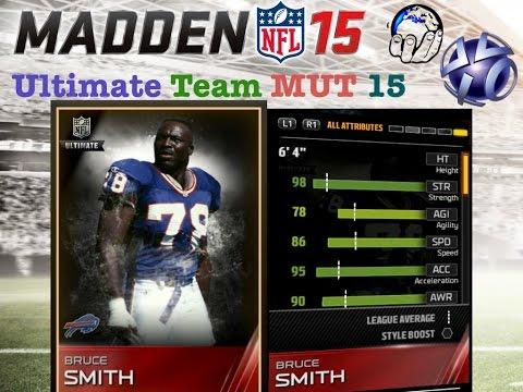 UT 99 BRUCE SMITH UNLOCKED & REVIEWED! | Madden Ultimate Team | MUT Gameplay