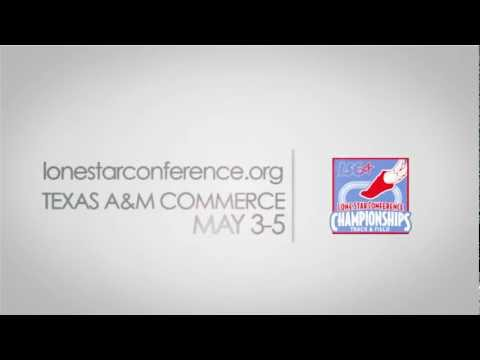 2012 Lone Star Conference Track and Field Championships Promo