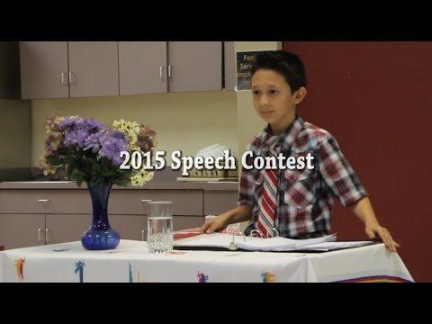 Panamerican Speech Contest 2015