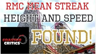 rmc mean streak height and speed found rmc mean streak math and physics