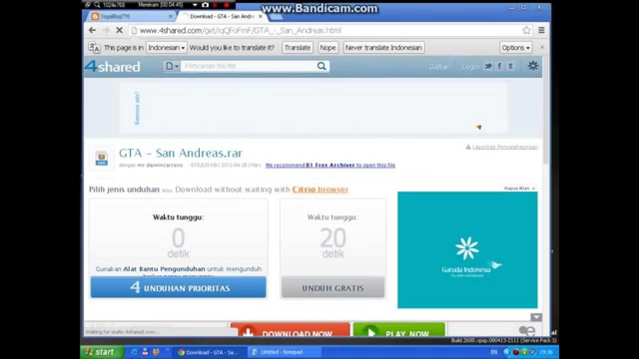 download gta san andreas indonesia pc terbaru