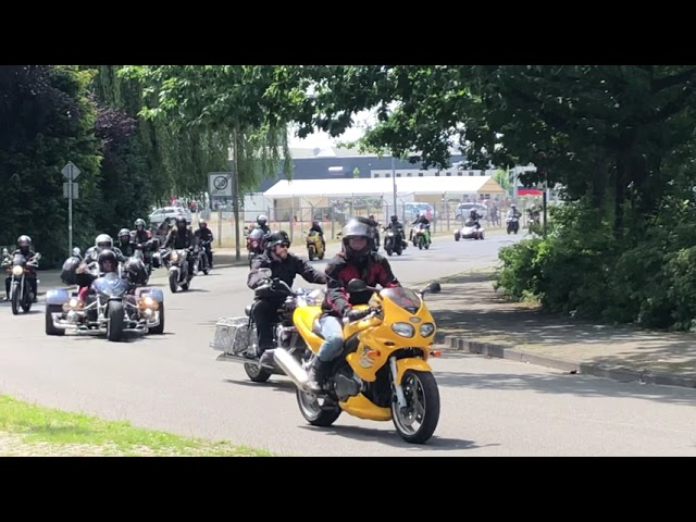 Motorrad Demo in Oldenburg am 4. Juli 2021