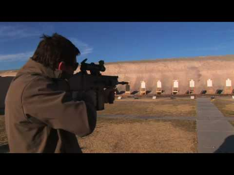 FN SCAR-H (Heavy) being fired