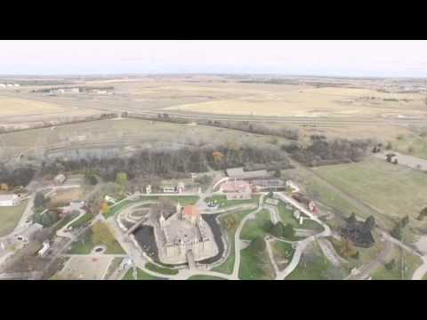 Wylie Park - Aberdeen, SD from above