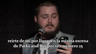 "Neil Hilborn - ""Me, But Happy"" (Sub español)"