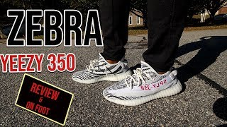 Adidas Yeezy V2 350 Zebra Review and on foot