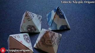 How to make money Pyramid | Xep Giay Origami