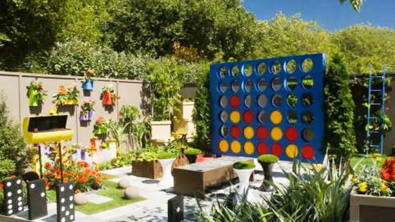 Modern Backyard Kid Friendly Backyard Ideas On A Budget Small