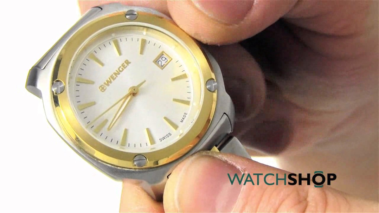 e5f7a5b0bdc Wenger Ladies  Edge Index Watch (011121106) - YouTube
