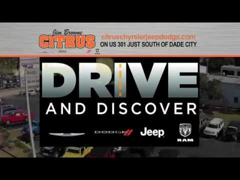 Jim Browne Citrus Chrysler Jeep Dodge Ram - Drive and Discover event