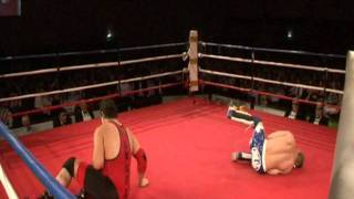 Marcus Kool Vs Max Damage (wrestling Attraction At Boxing Event)