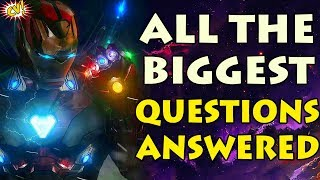 10 Biggest Endgame Questions Answered    #ComicVerse