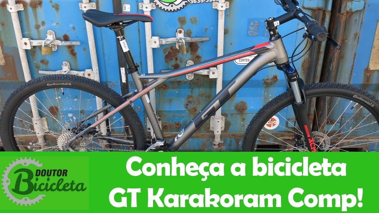 71dc32fc1 Unboxing - Conheça a GT Karakoram Comp. Doutor Bicicleta