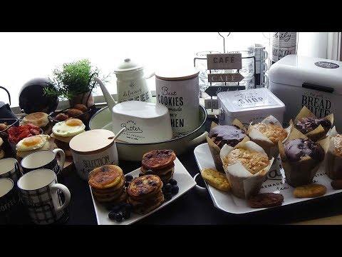 brunch-maison-facile-et-rapide-muffins-anglais,-pancakes..