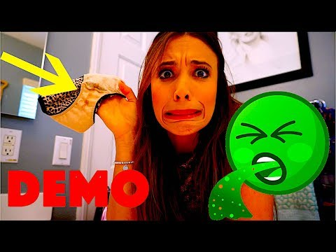 CLEANING PERIOD STAINS ON UNDERWEAR+ REAL DEMO!!!