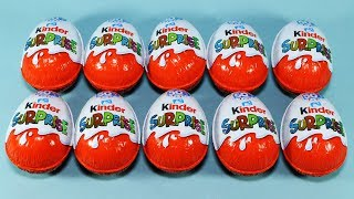Kinder Surprise Eggs The Smurfs Sprinty and More