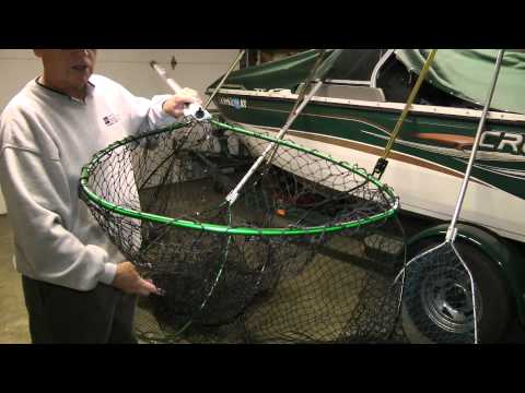 Free fishing video Best and Worst Muskie Nets review. Good information before you buy.