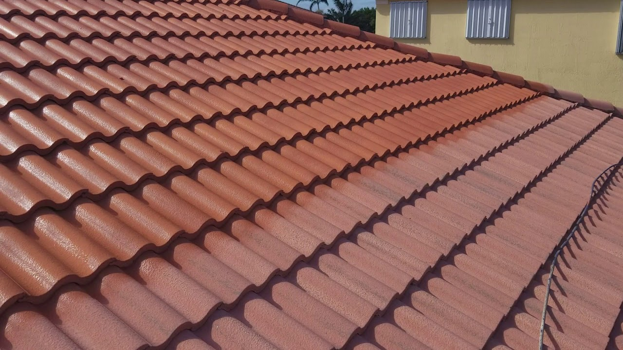 Repaint Roof Tile How To A Fast