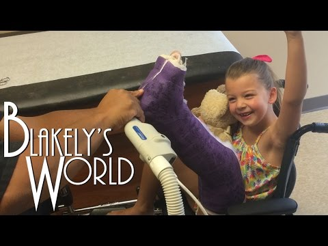 Blakelys Broken Leg  New Cast!