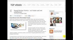 Popup Blocker Firefox - wo finden und wie installieren?