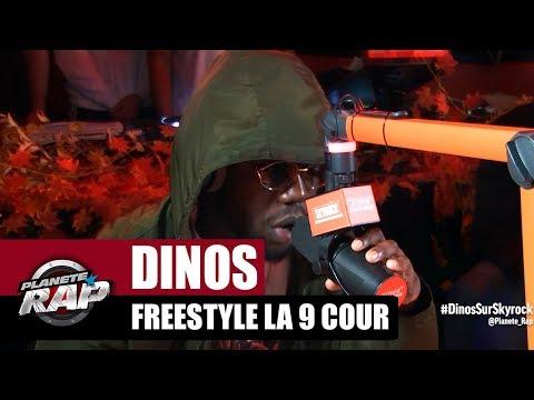 Youtube: Dinos – Freestyle la 9 cour #PlanèteRap