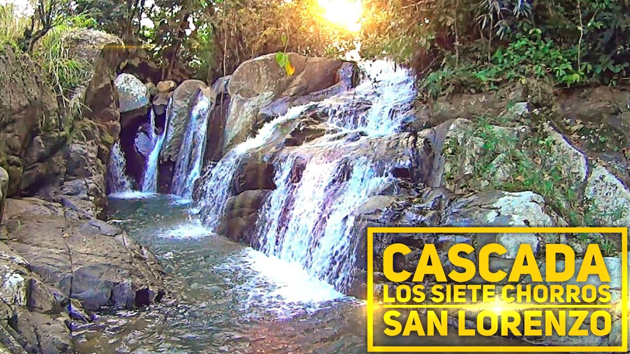 Cascada los siete chorros san lorenzo puerto rico youtube for Turismo interno p r