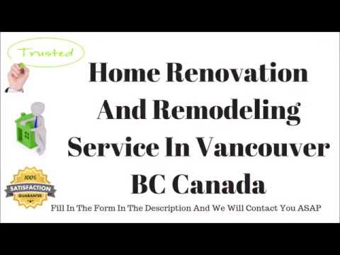 recommended home renovation companies in vancouver bc canada | general contractors services