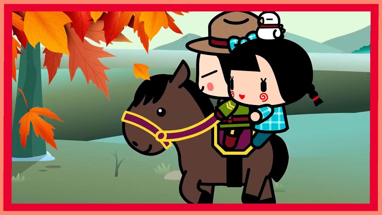 ¿Por qué le gusta tanto el otoño a Pucca?