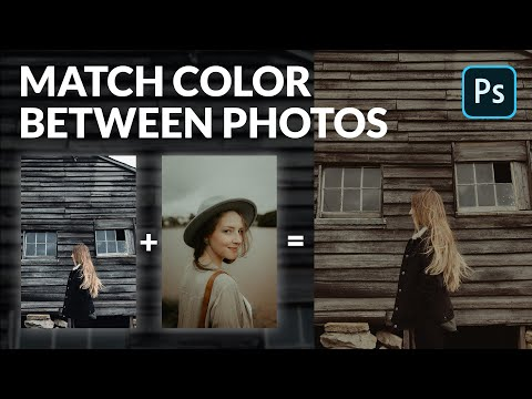 How To Match Color Between Images In Photoshop